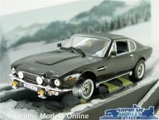 ASTON MARTIN V8 VANTAGE MODEL CAR JAMES BOND LIVING DAYLIGHTS FILM 1:43 IXO K8