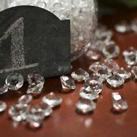 8000pcs Faux Acrylic Diamond Cute Wedding Decoration Confetti Table Scatter BULK