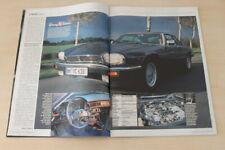 Auto Bild 16815) Jaguar XJS V12 Coupe mit 275PS in einer seltenen Vorstellung au