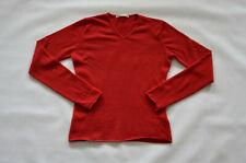 FTC Pullover Womens Jumper 100% Kaschmir/Cashmere Gr. XL rot/red