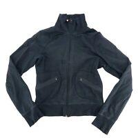 Lululemon Womens Zip Up Collared Athletic Jacket Coat Size Faded