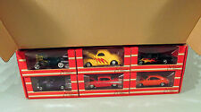 RARE 1/4k MAC TOOLS JOHN FORCE 6 PC HOT ROD SET 1:24 SCALE RACING CHAMPIONS