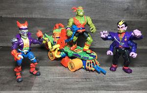 VTG Toxic Crusaders lot 3-Figures + 1-Cruiser
