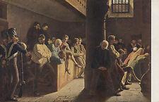 Artistes carte postale-w. Heine/criminels dans l'église