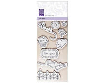 CART-US CLING STAMP SET (9PCS) SWEETS & TWEETS - RRP £5.99 NOW £2.75 FREE P & P