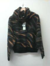 Brand new Womens DKNY jumper and scarf multicoloured UK12 EU 40 CG E02