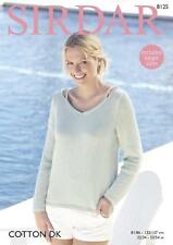 6ce40912f Cotton Knitting Sweaters Patterns