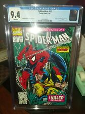 Spider-Man #12 - CGC 9.4 - Todd McFarlane - White Pages - Wolverine Appearance