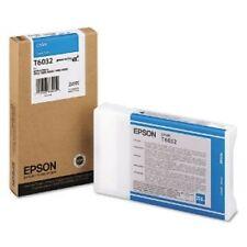 Originales Epson t6032 tinta c13t603200 cian stylus 7800 7880 9800 MHD 2014-2016