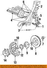 FORD OEM Rear Suspension-Hub FODZ1104A