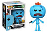 Funko Pop Rick and Morty Mr Meeseeks with Gun w/ Protector *Mint* Chase