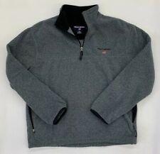 Ralph Lauren Polo Sport 1/2 Zip Fleece Long Sleeve Pullover Top Men Large EUC