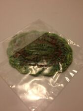 "Dollhouse Miniatures New 3 ½""X 3"" Oval Green Floor Rug *NIP*"