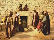 """*Postcard-""""The Tomb of Lazarus""""  -Bethany, Israel-  ...Classic-"""