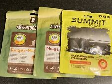 Adventure Food - Camping/Expedition Food Pouches X 3