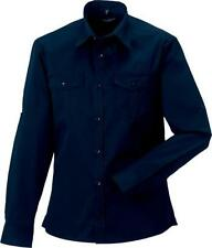 Cotton Roll Sleeve Formal Shirts for Men