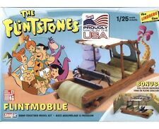 Lindberg [LND] 1:25 The Flintstones Flintmobile SnapIt Model Kit LND604 HL604