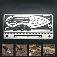 Fish Tool, Multifunctional Outdoor Camping Survival 22 Hook Tool 1 In Fishi B1O4
