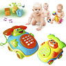 Baby Children* Wired Music Smiling Face Cartoon Phone Educational Toys Gift