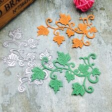 Maple Leaves Cutting Dies Stencil Scrapbook Paper Card Craft Embossing Tool DIY