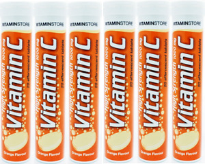 Vitamin C High Strength 1000mg Effervescent 120 Tablets New & Sealed UK Stock