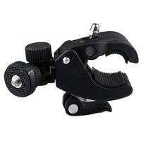 Camera Clamp Tube Bracket Clip Mount Digital SLR DV 360° Rotation High Quality