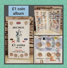 £1 ONE POUND COIN HUNT ALBUM - LIMITED EDITION, inc. space for Last Round Pound