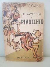 LE AVVENTURE DI PINOCCHIO collodi MUSSINO marzocco 1943