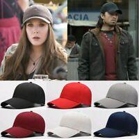 Men Women New Black Baseball Cap Snapback Hat Hip-Hop Adjustable Bboy Visor Caps