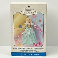Hallmark Ornament 1999 Barbie As Cinderella Doll Children's Collectors Series #3
