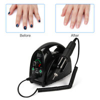 65W Strong Electric Nail Art Drill Machine 35000RPM Manicure Pedicure File Tool