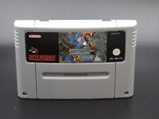 Mega Man & Bass For Super Nintendo SNES PAL (English Version)