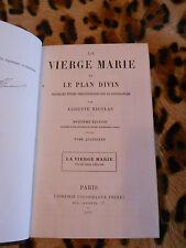 La vierge Marie et le plan divin, tome 4 - Auguste Nicolas - Poussielgue 1875