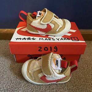 Nike Mars Yard Nikecraft Tom Sachs 2.0 TD Size 4C Toddler Crib Shoes BRAND NEW