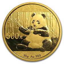 2017 China 30 gram Gold Panda BU (Sealed) - eBay2 - SKU#132932