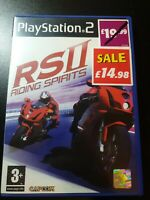 Riding Spirits 2 (Sony PlayStation 2, 2004) Complete with Manual