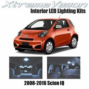 XtremeVision LED for Scion IQ 2008-2016 (4 Pieces) Cool White Premium Interior L
