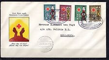 Dutch New Guinea - 1958 Red Cross - Mi. 49-52  FDC