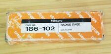 Mitutoyo 186 102 Radius Gage Set1764 To 1232 Leaves 100