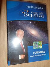 DVD N°1 VIAJE EN CIENCIA PIERO ANGELA LA'UNIVERSO VIAJE NELLO SPAZIO TEMPO