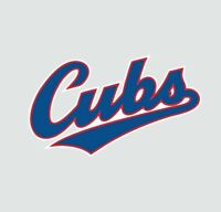 Chicago Cubs MLB Baseball Full Color Logo Sports Decal Sticker - FREE SHIPPING