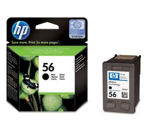 Genuine High Capacity Black HP 56 Ink Cartridge C6656AE