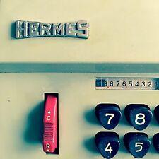 Machine à calculer Hermès Precisa 109-7 Vintage Hermes Adding Machine  an 50 60