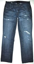 Rock & Republic Men's Bice Distressed Slim Straight Jeans 32 X 29 1/4 AWESOME