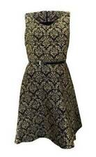 Monsoon Viscose Party Patternless Dresses for Women