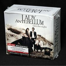 +LARGE T-SHIRT----> LADY ANTEBELLUM Own the Night TARGET Exclusive CD+TOUR SHIRT