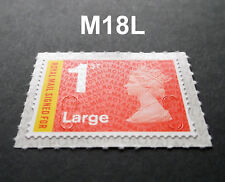 NEW 2018 1st LARGE SIGNED FOR M18L MACHIN SINGLE STAMP - WALSALL