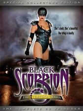 BLACK SCORPION Complete Series OOP BONUS FEATURES Michelle Lintel Shannon Whirry