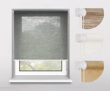 Oriental Bamboo-Like Natural New Window Roller Blinds, 16 Width Sizes, 4 Designs