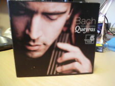 bach cello suites by queyras played once 2 cds and 1 dvd in set